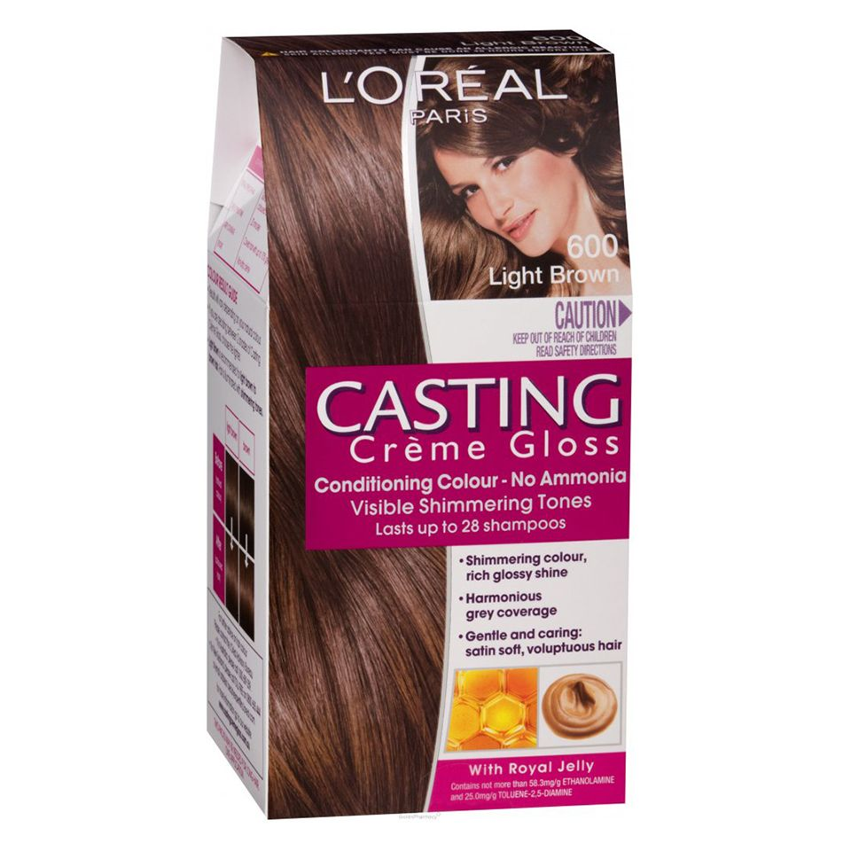 Loreal Paris Casting Cream Gloss 600 Light Brown Httpswww