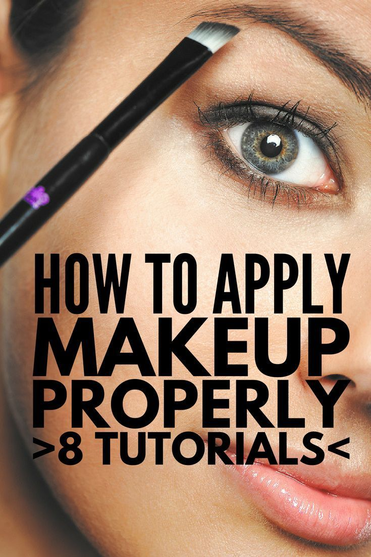 How To Apply Makeup Properly You