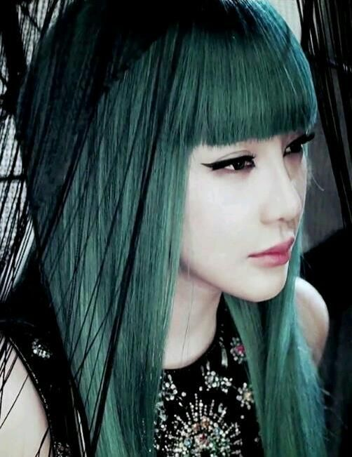Park Bom Hair Cabelos Pinterest 2ne1 Kpop And Idol