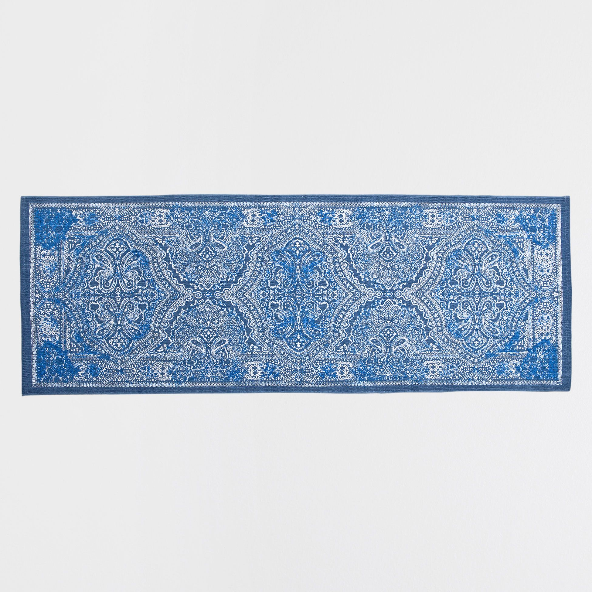 BLUE PAISLEY RUG - Rugs - Decoration | Zara Home United Kingdom