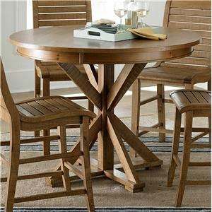 Progressive Furniture Willow Dining Round Counter Height Table Pleasing Willow Dining Room Decorating Design