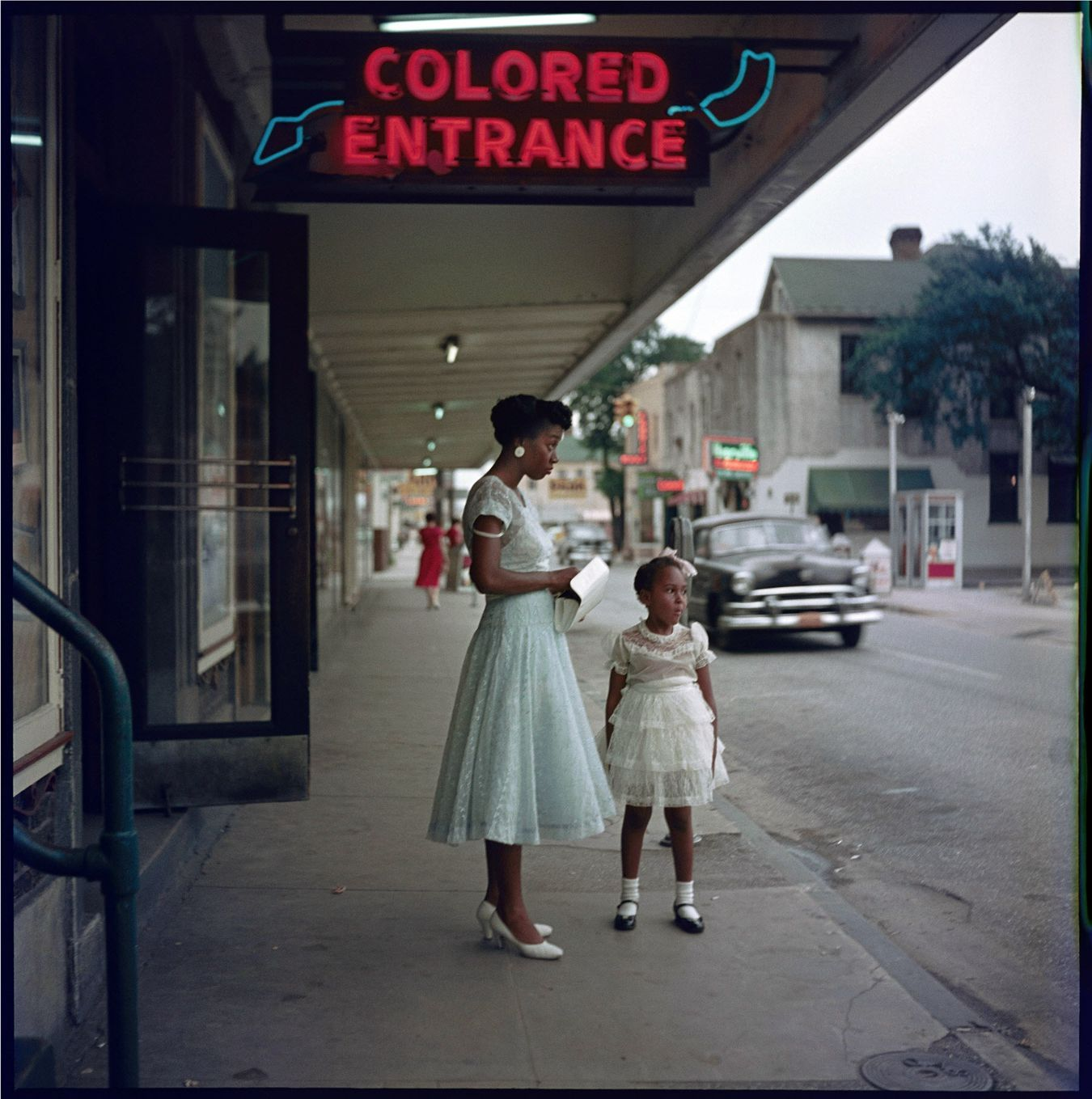 The photographs are in color — but the injustice is as clear as black and white. On assignment for Life magazine in 1956, photographer Gordon Parks focused on an extended African-American family in...