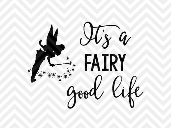 tinkerbell svg tinkerbell dxf tinkerbell silhouette svg cut