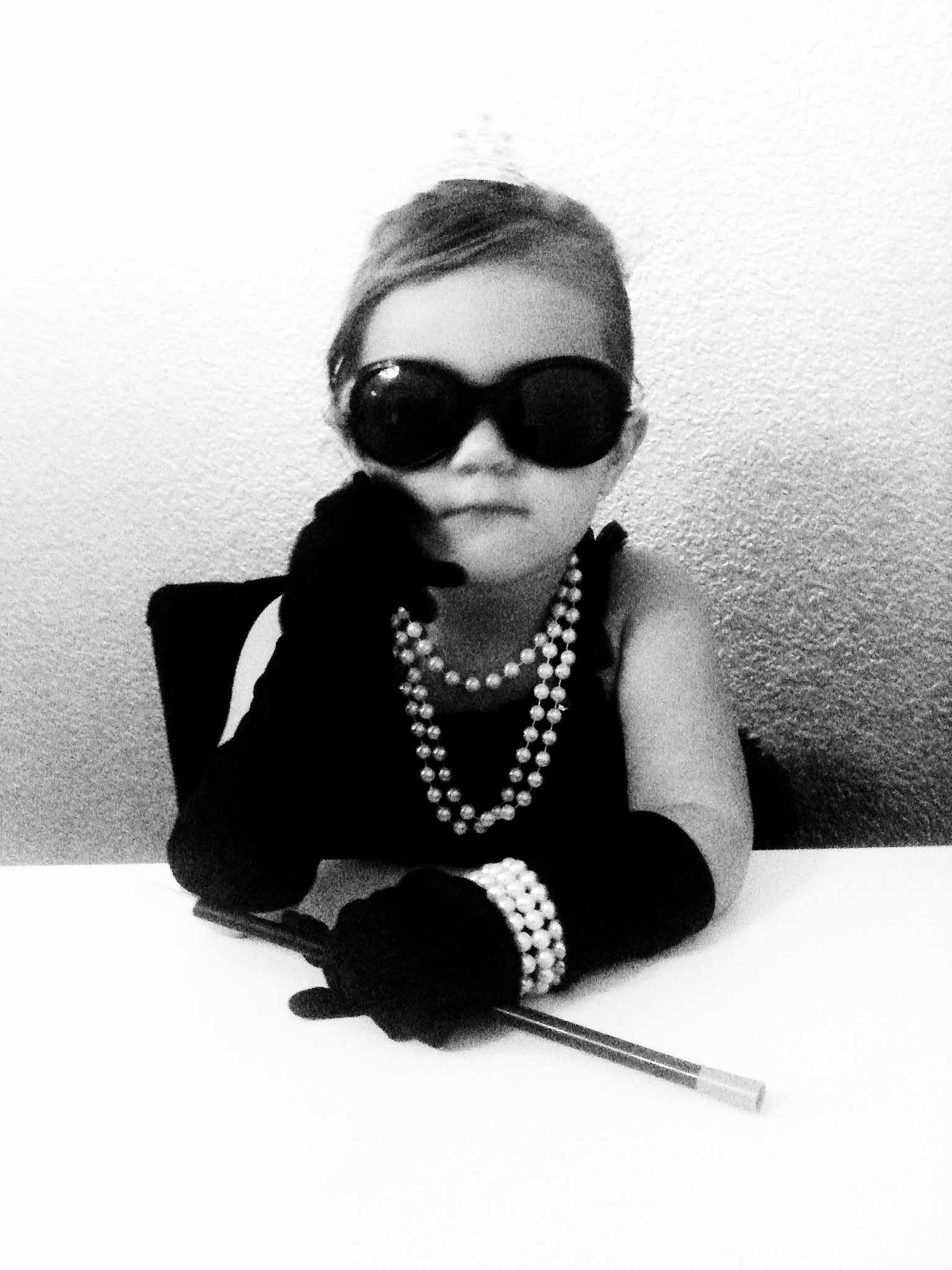 Audrey Hepburn, Breakfast at Tiffanys, kids costume | My ...