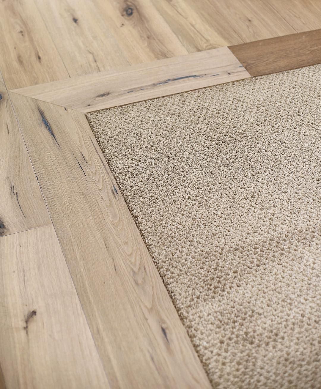 Smooth Transition From One Flooring To Another House Flooring
