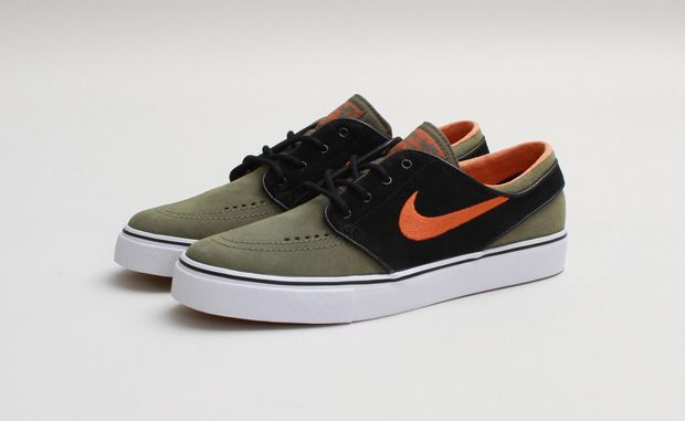 Nike SB Zoom Stefan Janoski Medium OliveUrban Orange