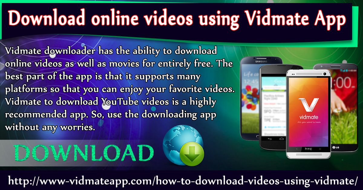 Pin by Vidmate App on How To Use Vidmate To Download YouTube