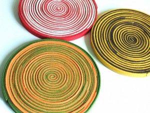 Come fare sottopentola in feltro varie felt crafts felt