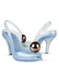Melissa + vivienne westwood anglomania Lady Dragon Ball Shoe in Blue | Lyst