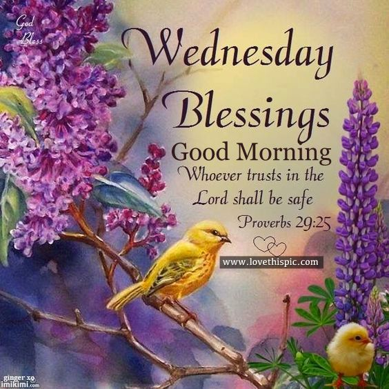 Wednesday Blessings Good Morning Weekday Morning Blessings Good