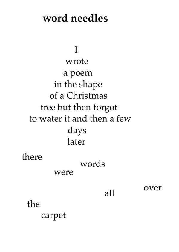 Lovely shape poem. Lovely shape poem Christmas Tree ... - Lovely Shape Poem Poetry Pinterest Poems, Poetry And Shape Poems