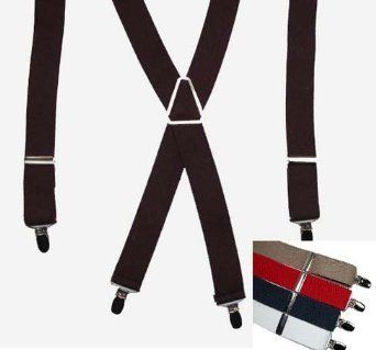 $6.95 Black Basic Elastic Suspender with Silver Finish Hardware Jackster, http://www.amazon.com/dp/B0007XOS6W/ref=cm_sw_r_pi_dp_ftNlqb0QE1VYZ