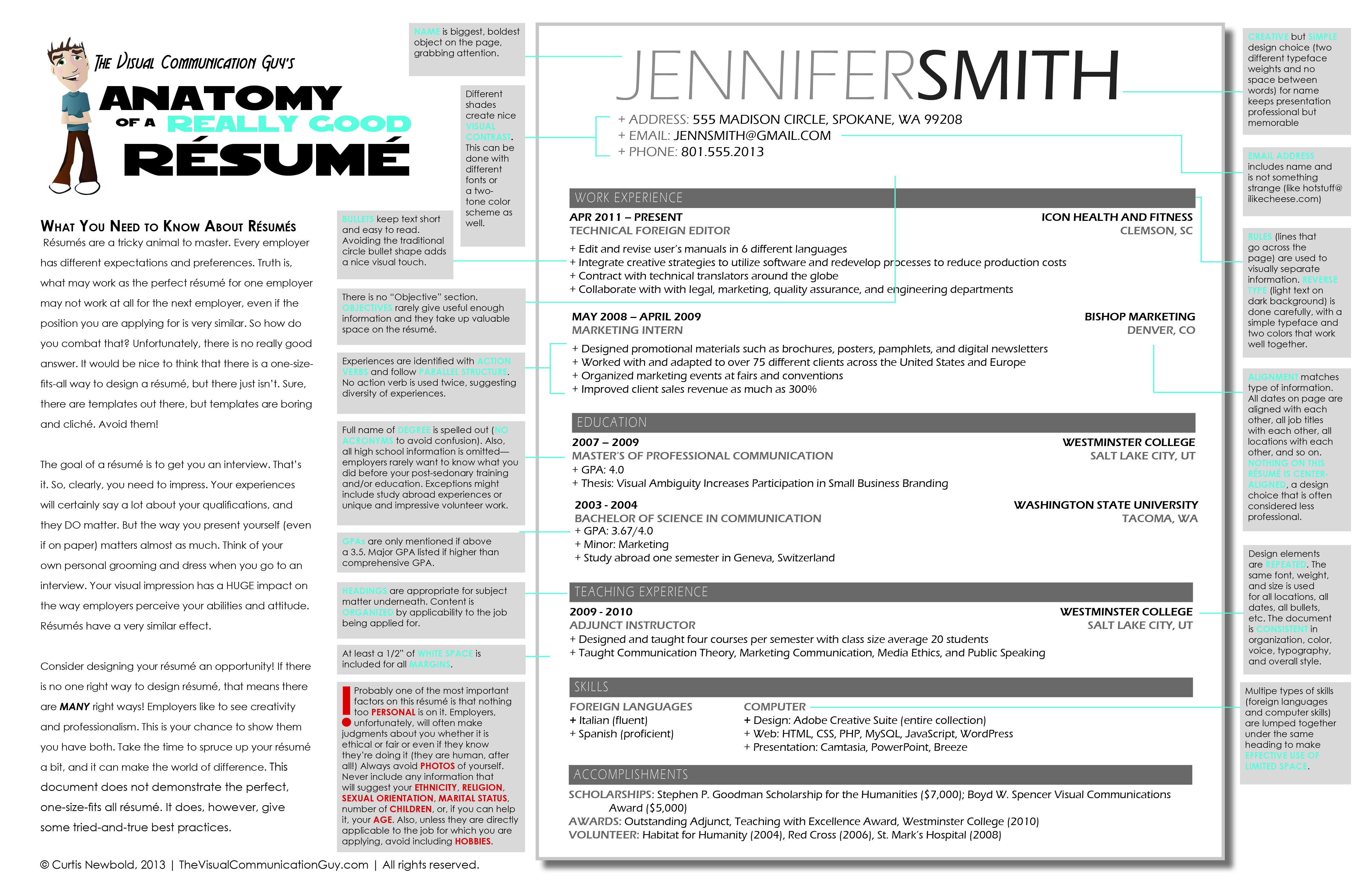 really good resume template