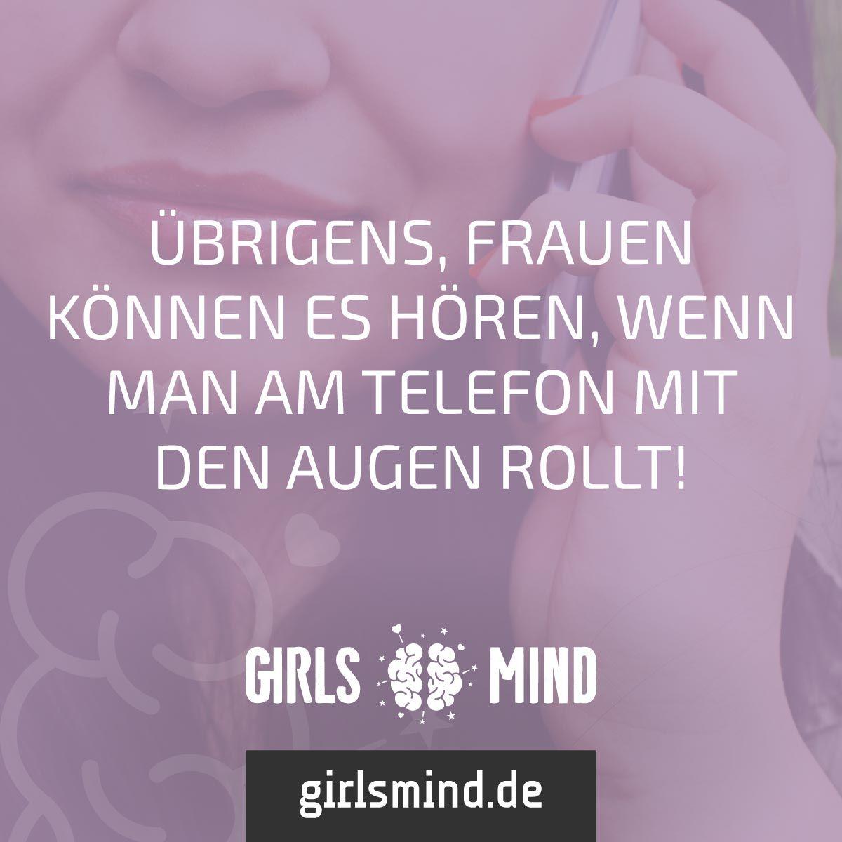 Mehr Sprüche auf: www.girlsmind.de #frau #telefon #genervt ...