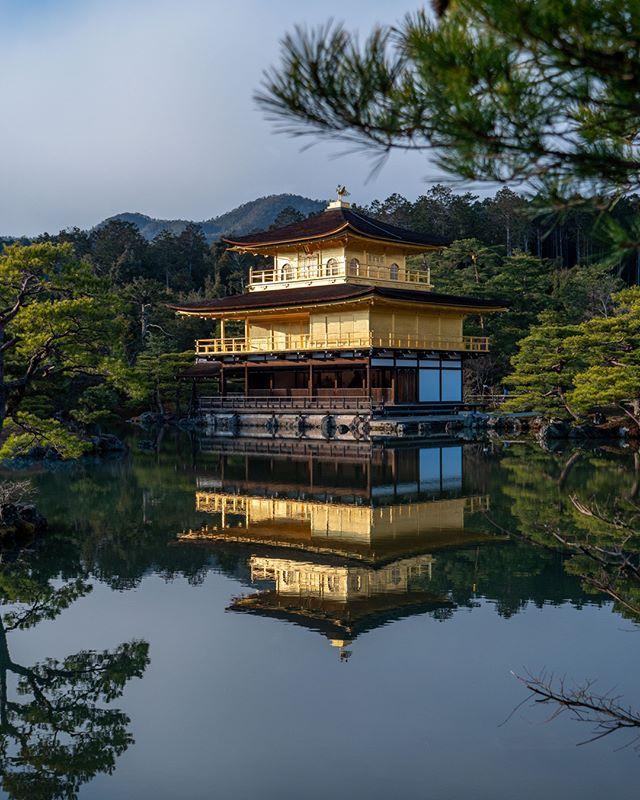 All year long, rain or shine, Kyoto Golden Pavilion (金閣寺) is a feast for the eyes. Photo shot on 2020/02/10 at 16h30.  #kyoto #kinkakuji #kinkakujitemple #goldenpavilion #金閣寺 #Japan #Travel #Historical #TravelPic #JapanTrip #Nippon #TravelPhotos #Cultural #IGersJapan #Nihon #JapanFocus #iLoveJapan #JapanTravel #JapanLife #ExploreJapan #LoveJapan #CoolJapan #TravelJapan #JapanTour #VisitJapan #JapanLover #DiscoverJapan #JapanCulture #OffTheBeatenPath