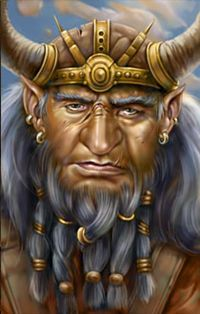 Korgan Bloodaxe Fantasy Portraits Character Portraits Fantasy