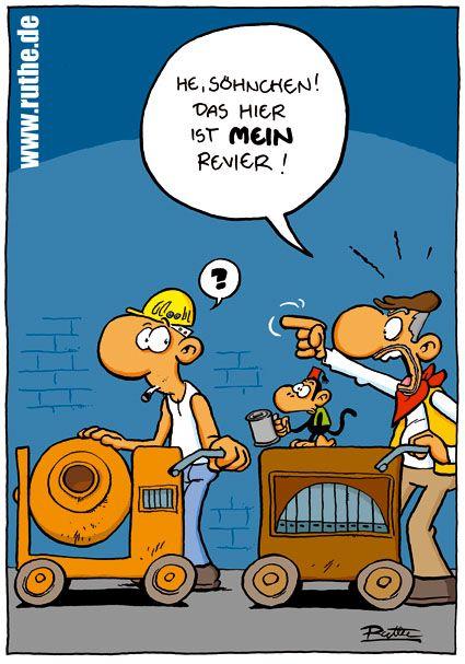 Sohnchen Strassenmusiker Affe Mischmaschine Bauarbeiter Maurer Orgel