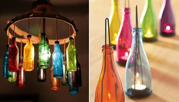 22 Glass Recycling Ideas To Reuse And Recycle Empty Bottles