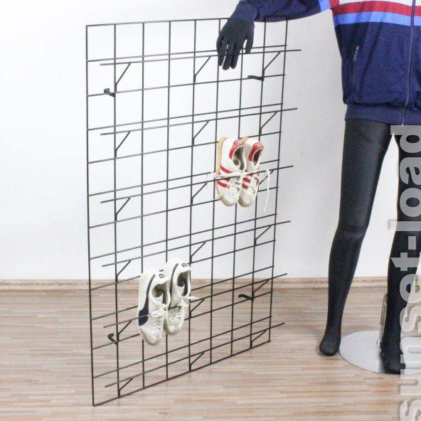 Garderobe Gitter string wand schuh regal wie draht garderobe 50er 60er jahre für