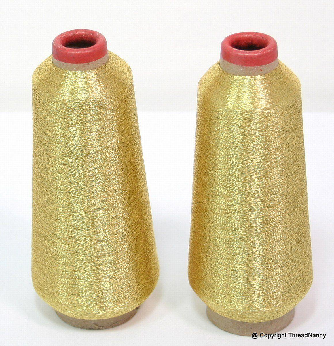 10 000 mètres Nouveau Fil Métallique Gold /& Silver cônes