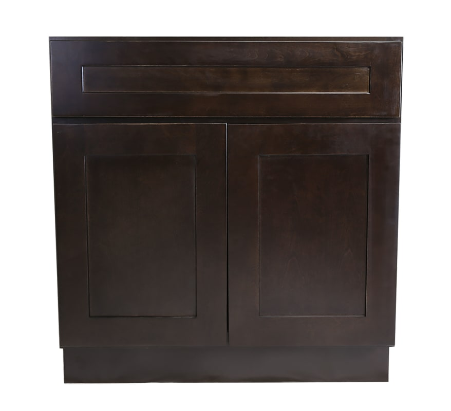 36 inch kitchen cabinets stonewall coupons design house 620286 brookings 34 5 x double door base cabinet espresso