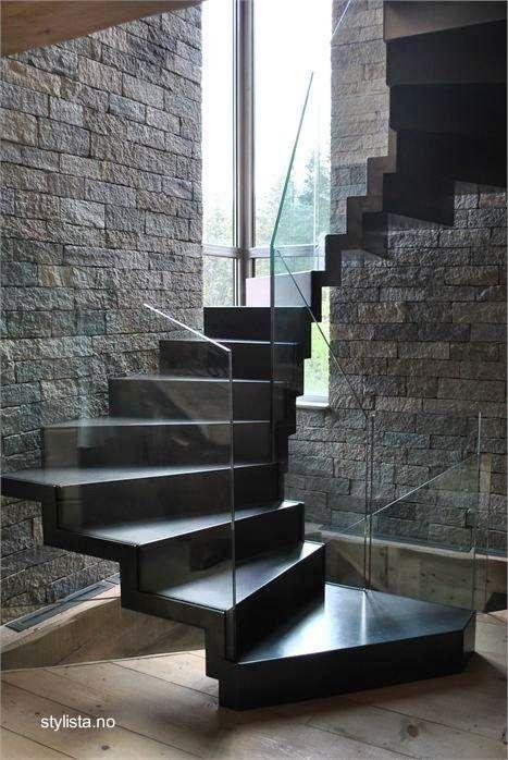 Diseño contemporáneo minimalista Escaleras Pinterest Diseño