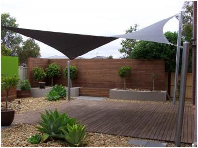 5 Great Options For Shading Your Yard Backyard Shade Outdoor Shade Backyard Patio