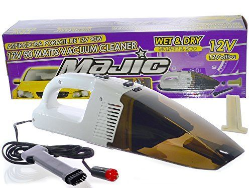 Majic 12v 90w Wet Dry Auto Vacuum Cleaner With 9 Ft Car Power Cord Visit The Affiliate Link Car Cleaning Hacks Car Vacuum Cleaner Car Cleaning