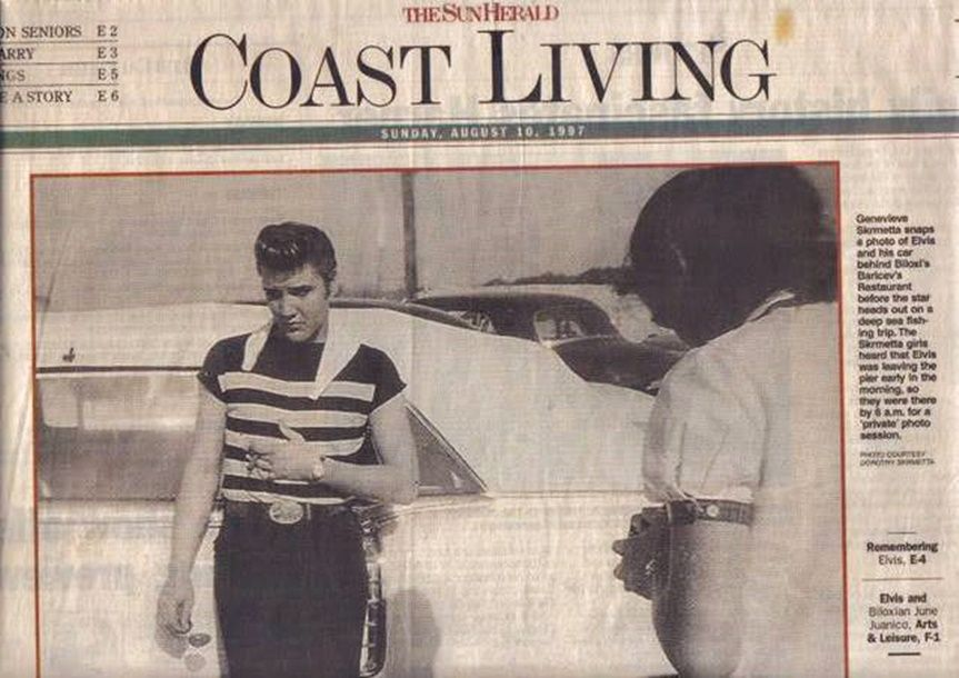 taken in Biloxi, MS on July 12, 1956 at 6 a.m. shortly before his ...