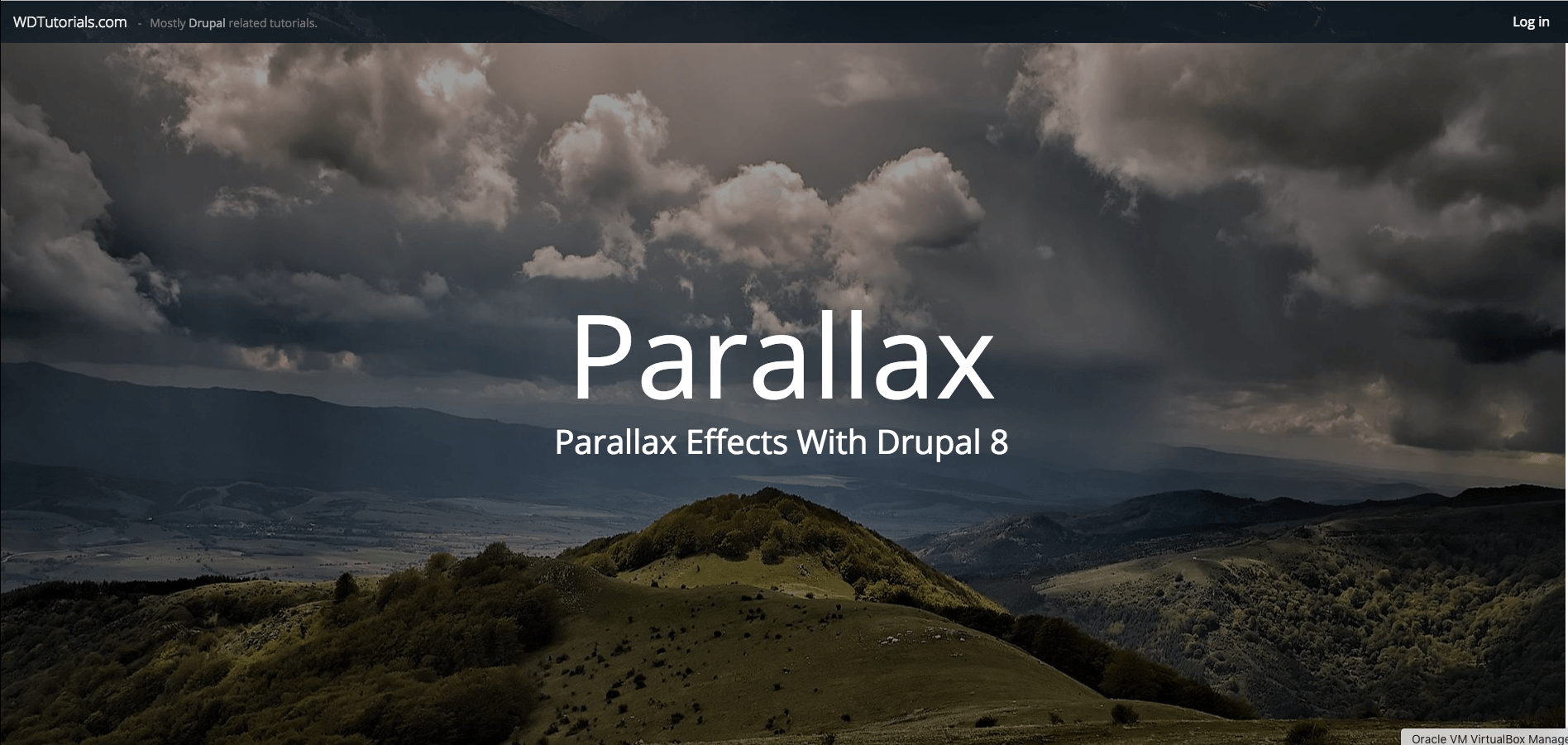 How to create parallax effects drupal 8 tutorial article video how to create parallax effects drupal 8 tutorial article video baditri Choice Image