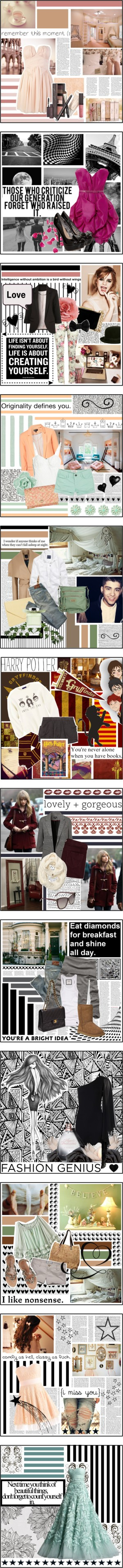 """Best of August 2012"" by holly-elizabeth ❤ liked on Polyvore"