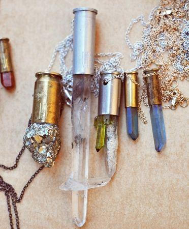 Unearthen bullet necklaces