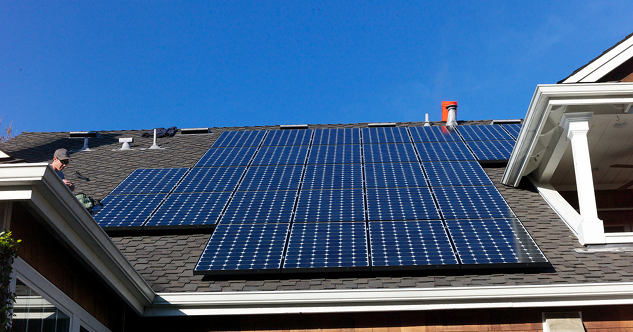 Solar Panel Roof Shingles >> Solar Roof Shingles Vs Solar Panels Keeping Solar Roof Solar