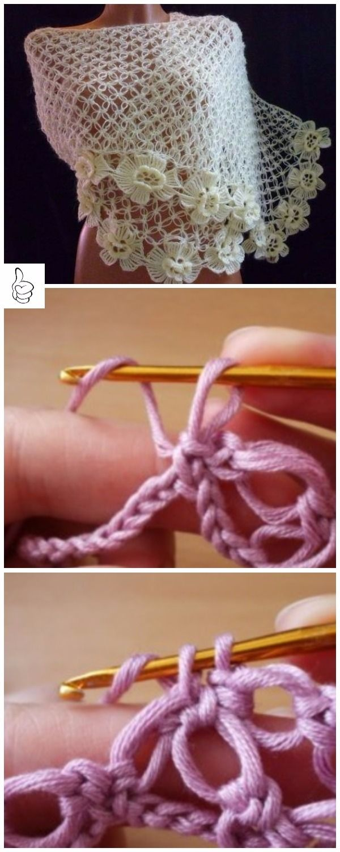Crochet Shawl Patterns for Women All Seasons | Crochet shawl ...