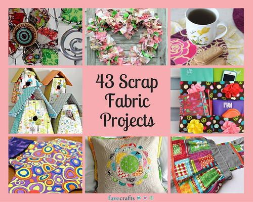 craft ideas for scrap fabric 43 scrap fabric projects crafts stuff travel 6233