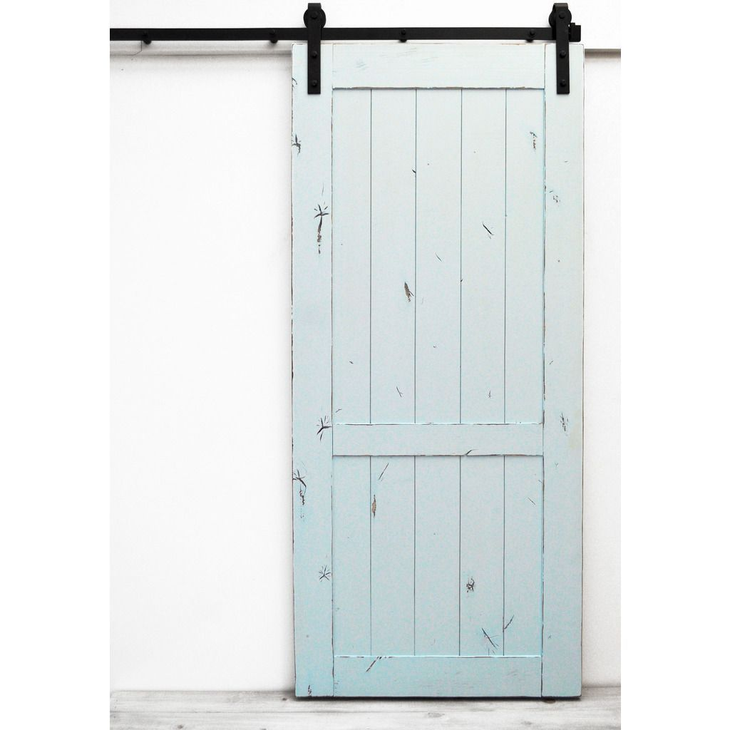 Dogberry country vintage x inch barn door with sliding