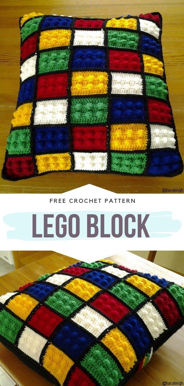 How to Crochet Lego Block – Handarbeit