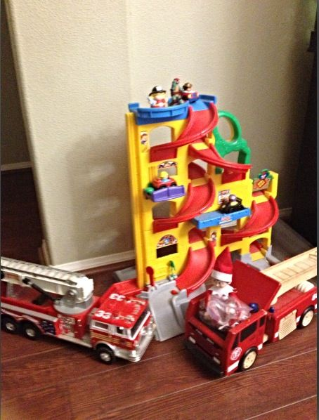 Day 15: Jingle is putting out fires and saving lives today.