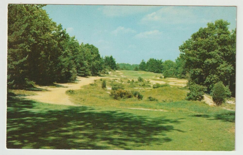 Unused Postcard Pine Valley Golf Club Pine Valley New ...