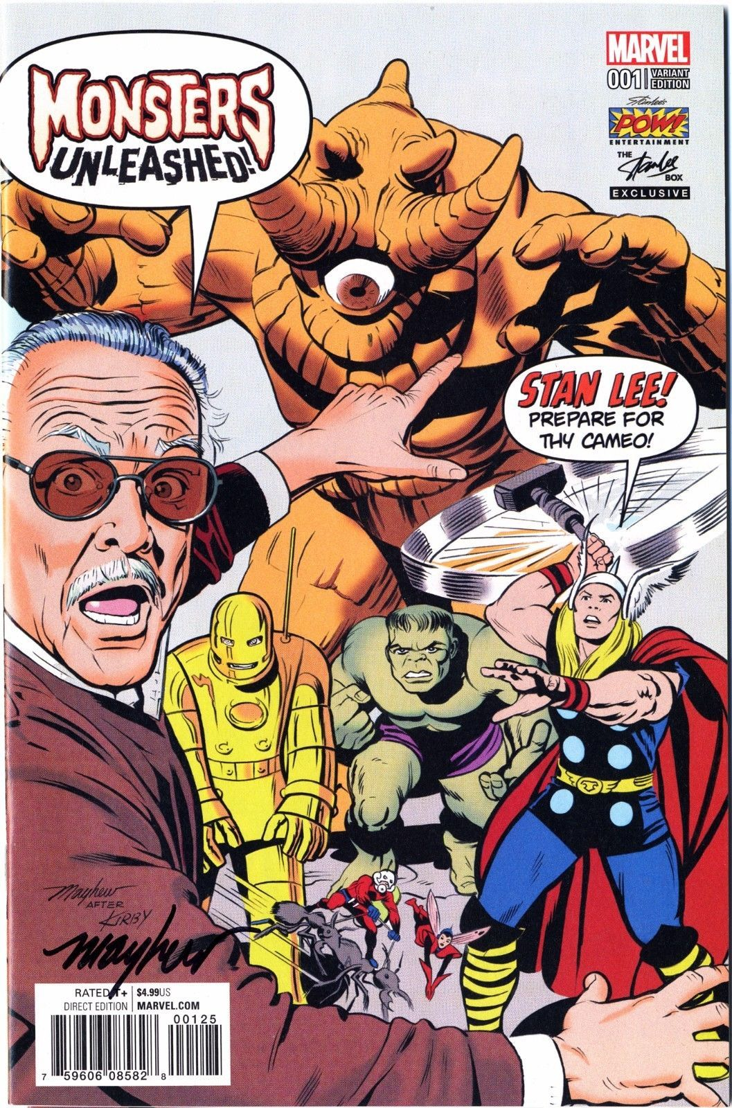 Stan Lee Tribute To Run On Marvel Comics Covers In