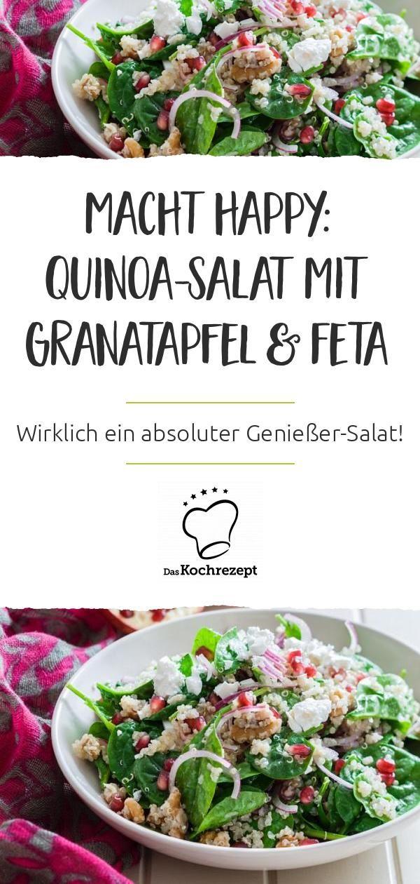 Photo of Quinoa salad with pomegranate and feta