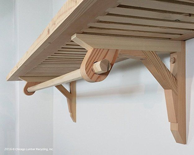 Superbe Amazon.com: Pair Of Shelf Support Brackets With A Closet Rod Setting  Attached,