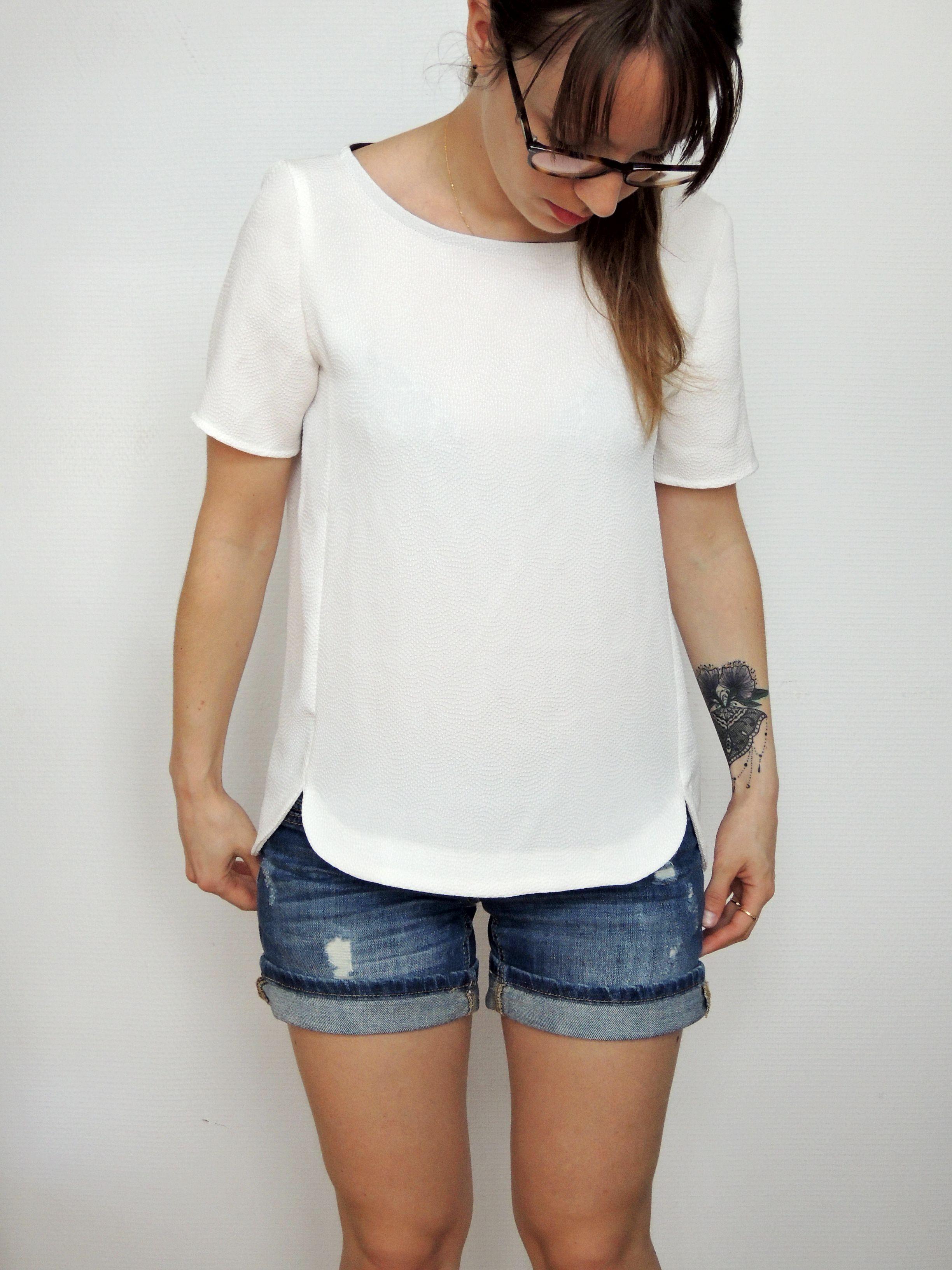 Blouse Cézembre , Anne K Couture | blusas | Pinterest | Costura ...