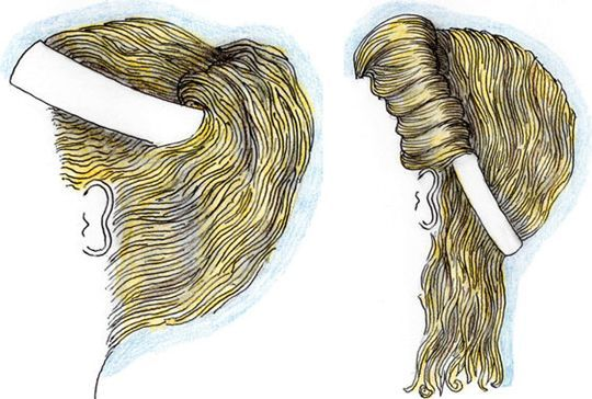 Ancient Greek hairstyles with ribbons Hair for Work and