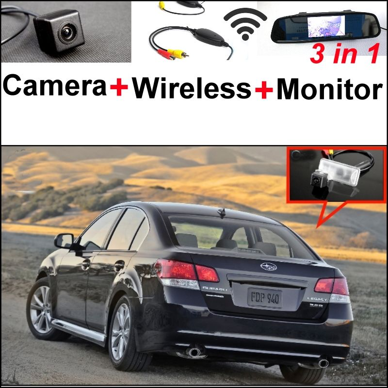 3 In1 Special Rear View Camera Wireless Receiver Mirror