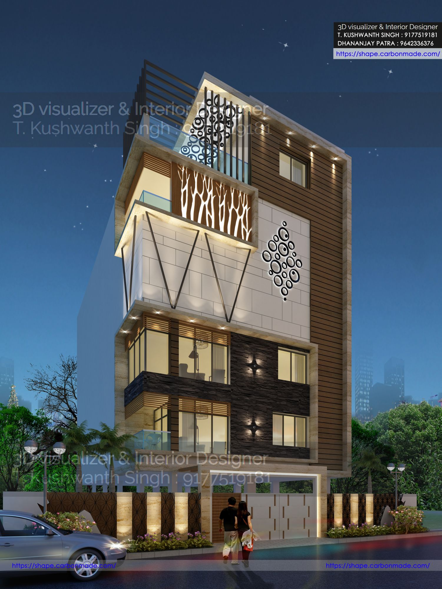House Front Design House Design Front Elevation Designs: House Wall Design, House Front Design, Small House Elevation