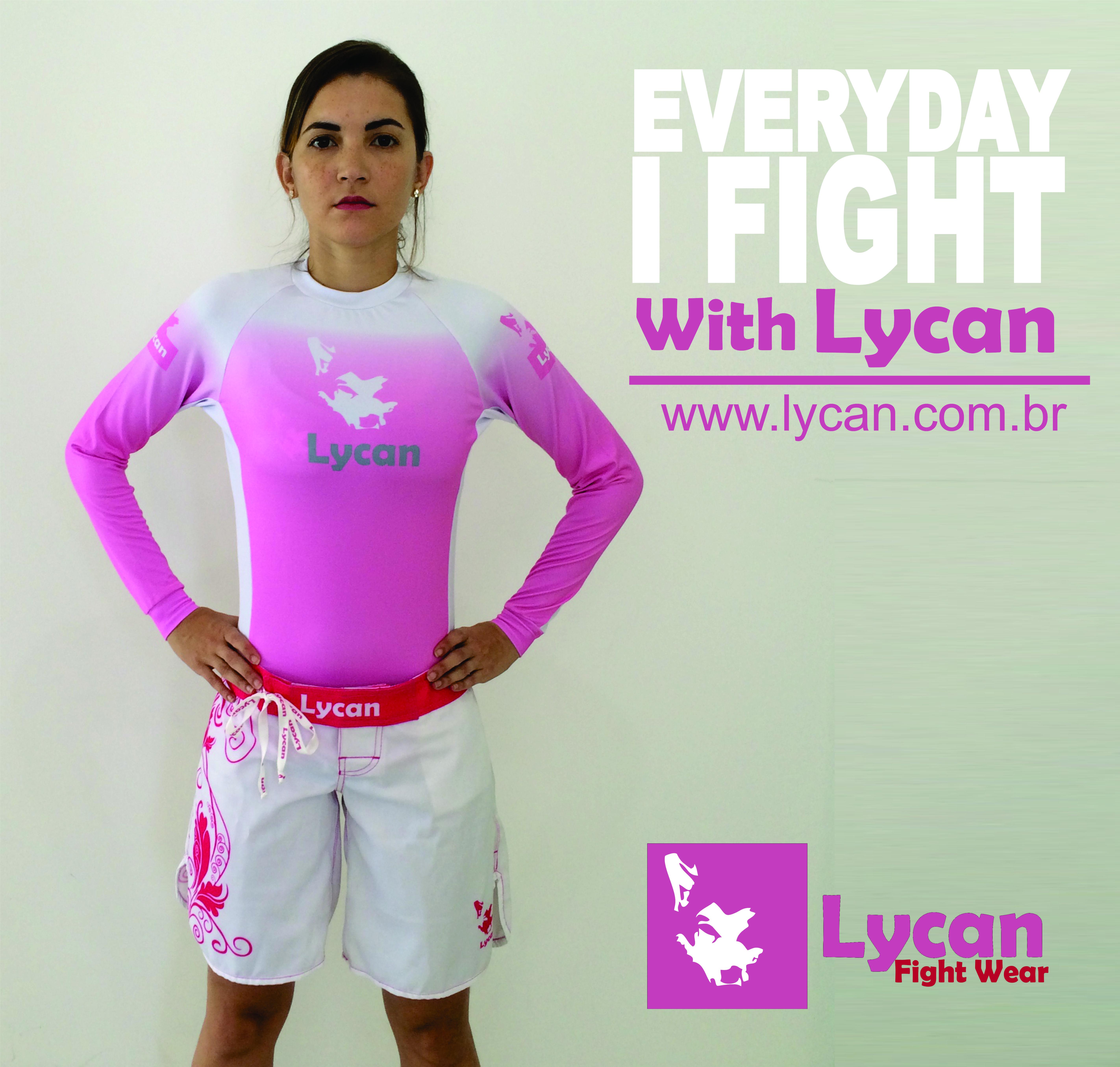 Every Day I Fight With Lycan! #LycanFightWear #RashGuard #FightWear #NoGi