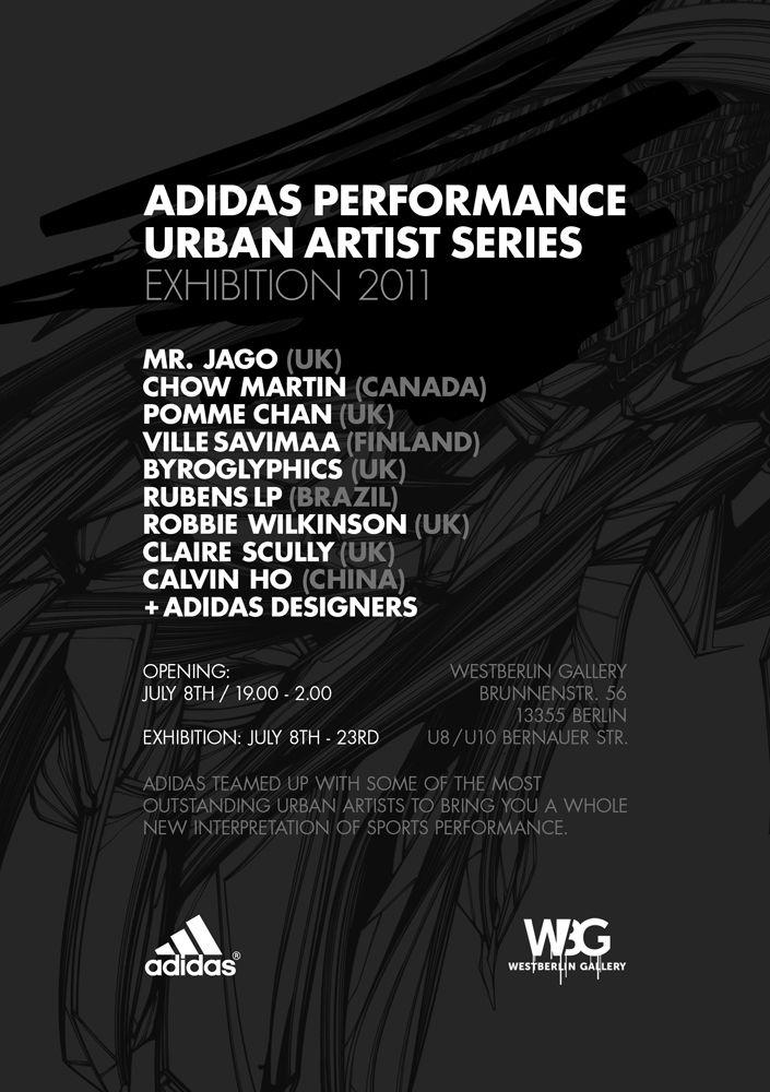 big sale 5464a efc99 Urban artist series, Adidas