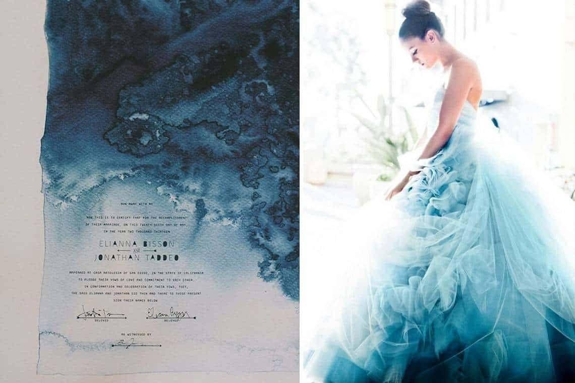 Watercolour wedding ideas luxury wedding planning tips dresses