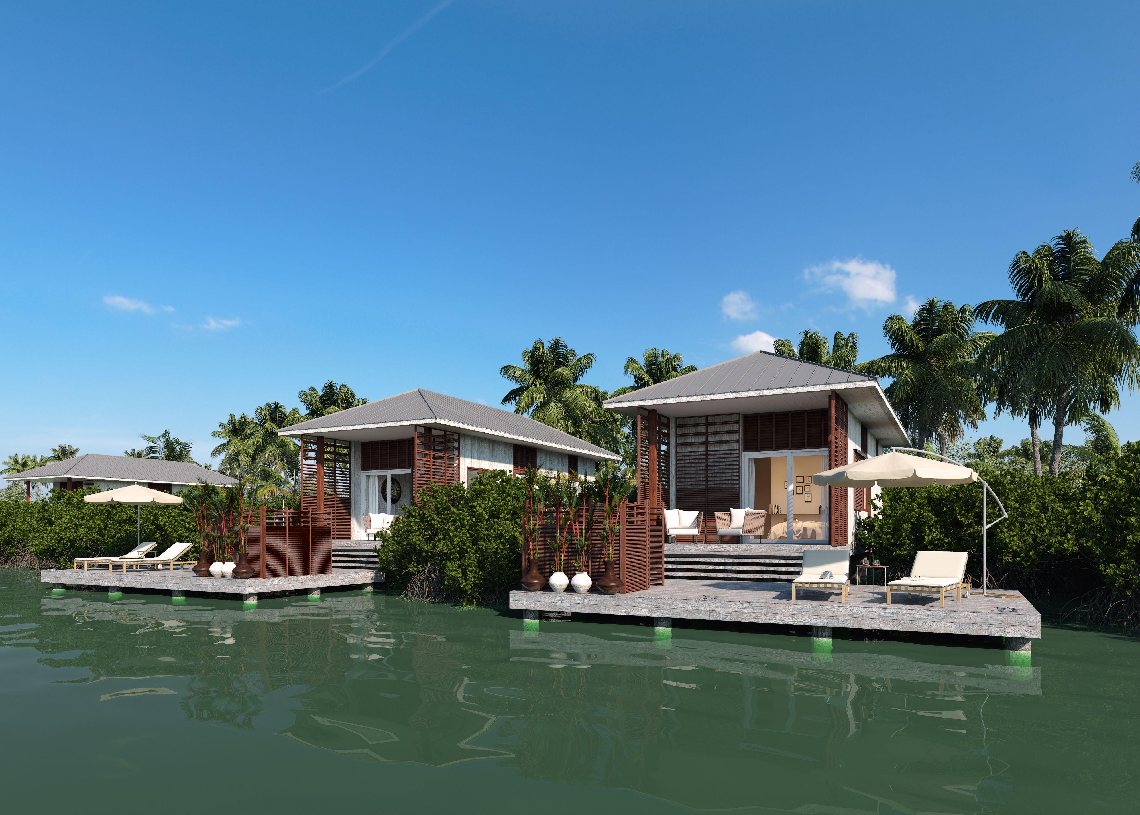 A private luxury oasis. | #Itzana #luxuryresort #Belize